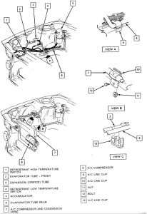 Ac Expansion Valve Location Chrysler Town And Country, Ac