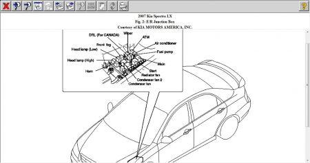 Service manual [2007 Kia Spectra Relay Switch Air