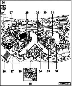 2004 Audi A6 P0030 HO2S Heater Control Circuit Bank 1 Senso
