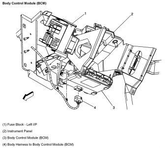 2003 Chevy Silverado Body Control Module?: Electrical