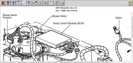 2000 Oldsmobile Alero: Electrical Problem 2000 Oldsmobile