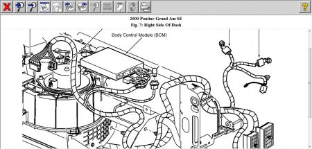 2000 Pontiac Grandville BCM: Computer Problem 2000 Pontiac