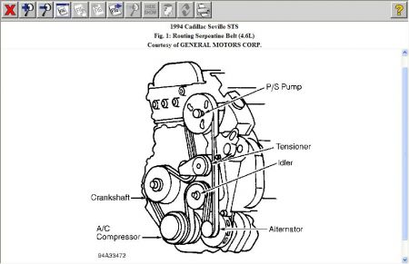1994 Cadillac Seville Drive Belt Routing: How Do You Put