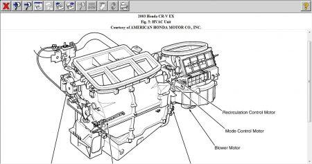 2005 Honda Civic Expansion Valve Location