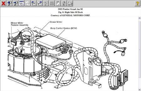 2003 Pontiac Grand Am Heater Blower Switch: Heater Problem
