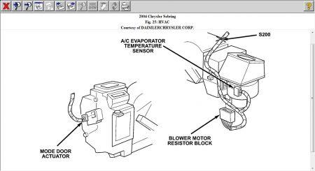 2004 Chrysler Sebring Blower Motor Resistor: Where Is the