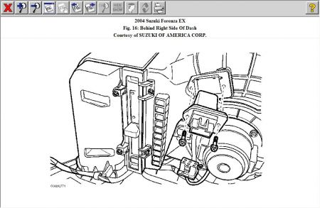 2006 Suzuki Forenza Engine Diagram, 2006, Free Engine