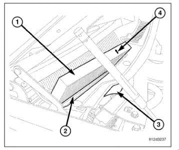 2006 Chrysler 300 Cabin Air Filter: Instructions on
