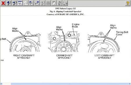 1992 Subaru Legacy Timing: Engine Mechanical Problem 1992