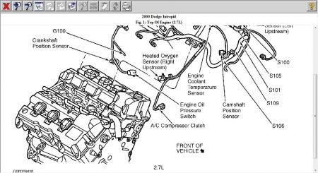 2000 Dodge Intrepid Sensor: Where Is the Cam Sensor and