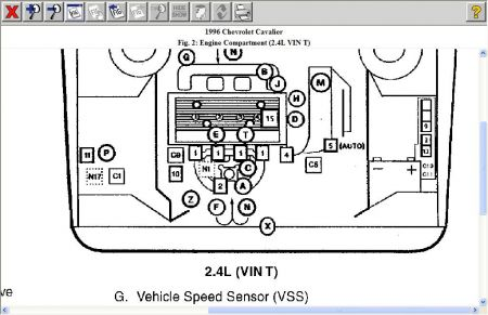 1996 Chevy Cavalier Crankshaft Position Sensor: Where Is