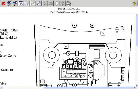 1996 Chevy Cavalier Crankshaft Position Sensor: Where Is