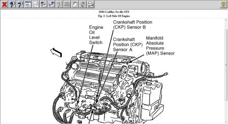 2000 Cadillac STS Crank Position Sensor: I Need Help with