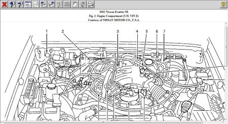2001 Nissan Frontier Supercharged Engine Diagram • Wiring