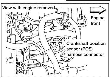 2006 Nissan Altima Camshaft Crankshaft Sensor: Engine