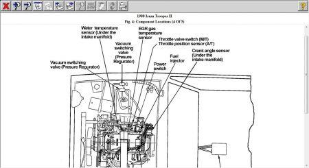1988 Isuzu Trooper: Heater Problem 1988 Isuzu Trooper 4