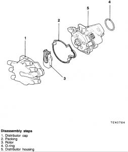1998 Chrysler Sebring DISTRIBUTOR: HOW DO YOU INSTALL a
