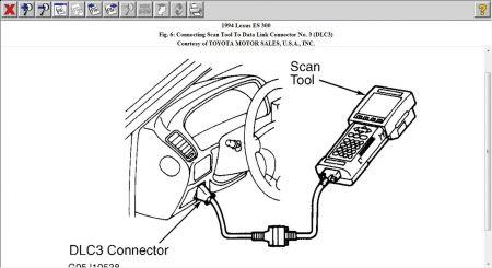 1994 Lexus ES 300 94 Lexus E300 Transmission Computer: