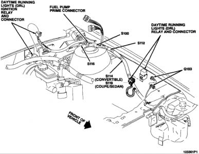 1994 Pontiac Sunbird Daytime Running Lights: My Daytime