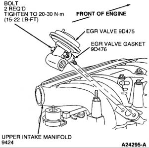 1997 Ford Thunderbird EGR Valve: a Friend Asked Me to