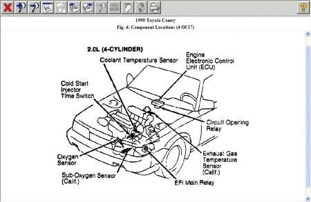 1990 Toyota Camry COMPUTER LOCATION?: Computer Problem