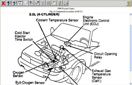 1990 toyota camry fuel pump location Car Pictures