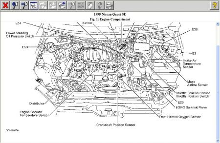 2001 Camry Exhaust System Diagram, 2001, Free Engine Image