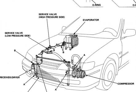 96 Honda Accord Cooling System Diagram, 96, Free Engine