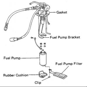 1986 Toyota 4Runner FUEL FILTER: Engine Mechanical Problem
