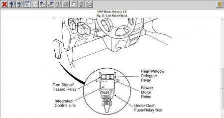 1995 Honda Passport Flasher Unit: Where Is the Flasher