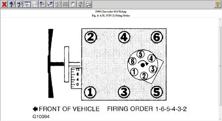 1990 GMC Jimmy Firing Order for Plugs: I Need the Firing