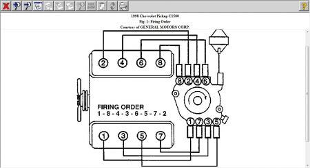 Wiring Diagram for Firing Order: I Just Changed the Cap