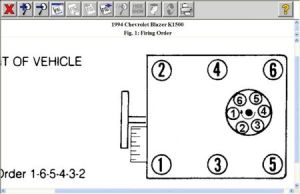 1994 Chevy Blazer Wiring Diagram for Distributor Cap