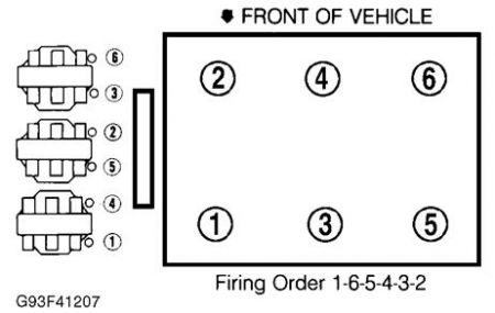 Ford Windstar 3 8 Engine Firing Order Diagram. Ford