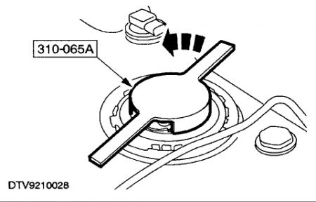 Service manual [2000 Mercury Cougar Water Pump Removal