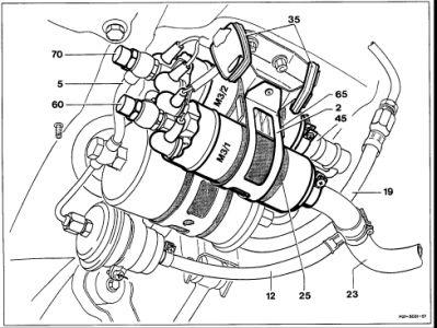 1993 Mercedes Benz 300e: 1993 Mercedes Benz 300e Fuel Pump