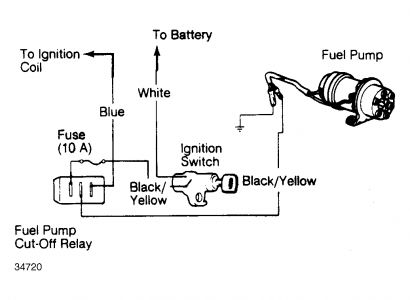 1986 Honda Prelude Fuel Pump Voltage: Electrical Problem