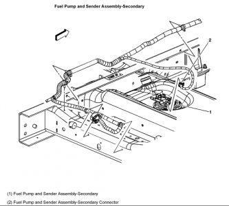 2003 Chevy Tahoe Replacing the Fuel Pump on a Flex Vinz V8