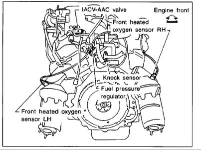 2000 Nissan Frontier 00 Frontier Fuel Regulator: Engine