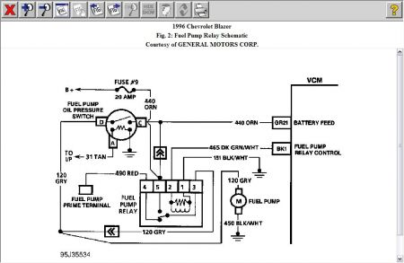 97 S10 Fuel Pump Wiring Diagram : 31 Wiring Diagram Images