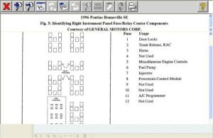 Fuse Box: My Car Is Used and the Only Owners Manual with