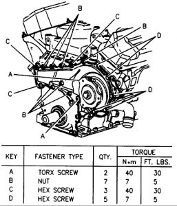 2000 Toyota Land Cruiser Serpentine Belt Diagram, 2000