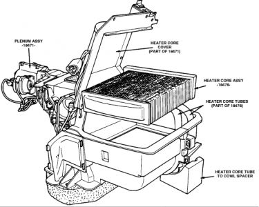 1989 Ford F250 Heater Core: How to I Replace the Heater
