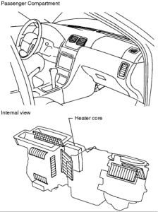 Service manual [1996 Nissan Maxima How To Remove Heater