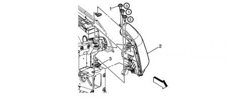 2007 Saturn Outlook Head Light: Electrical Problem 2007