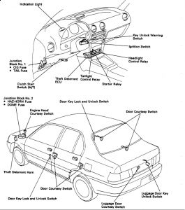 1991 Toyota Tercel Low Beams Wont Work High Beams Do