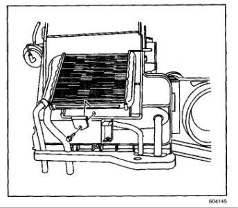 2001 Pontiac Grand AM GT Heater Core: 2001 Pontiac Grand