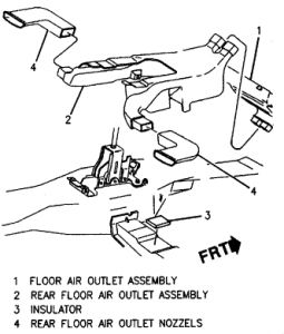1996 Pontiac Grand Am Heater Core Diagram: I Need a