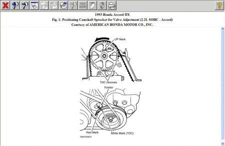 1993 Honda Accord Align Timing Marks for New Timing Belt