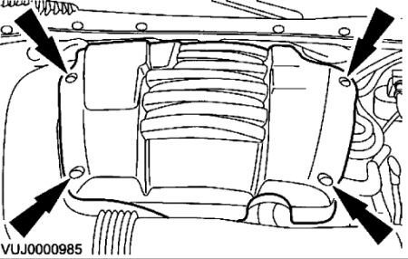 2001 Jaguar S-Type Location of Ingintion Coil: How to